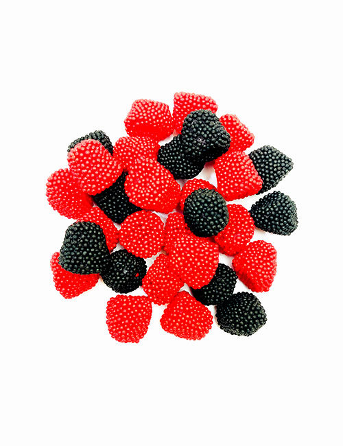 Jelly Belly Raspberry and Blackberries