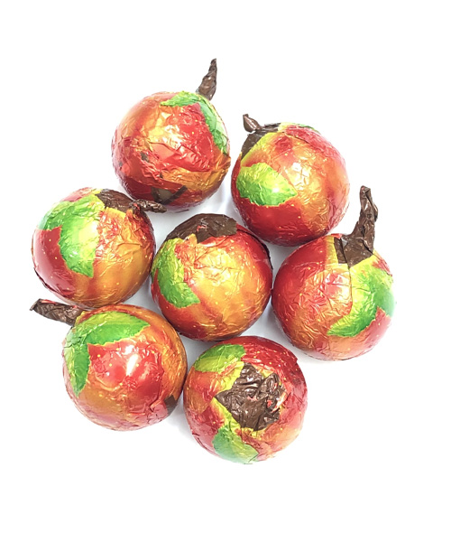 Autumn Milk Chocolate Apple Foiled Caramel