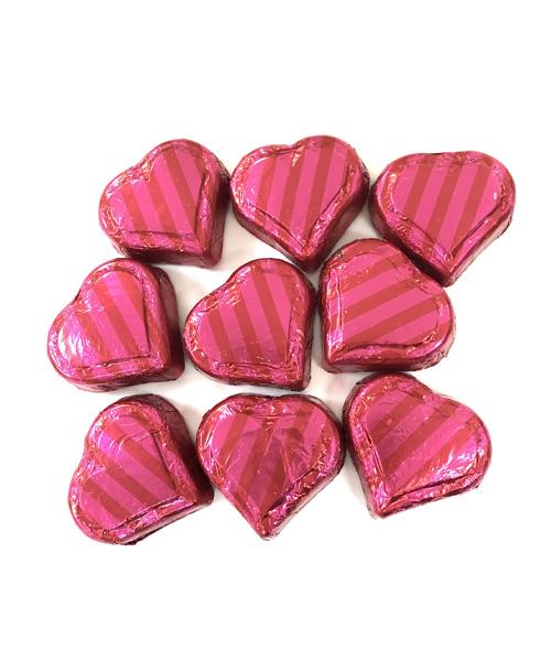 Valentine's Day Milk Chocolate Caramel Hearts