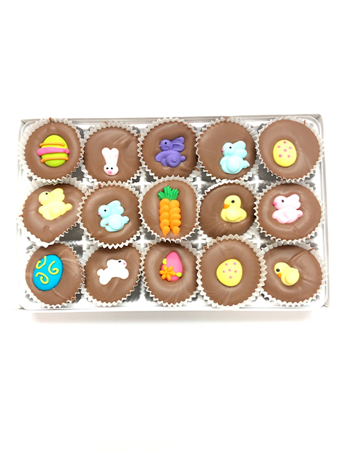 Milk chocolate easter favors