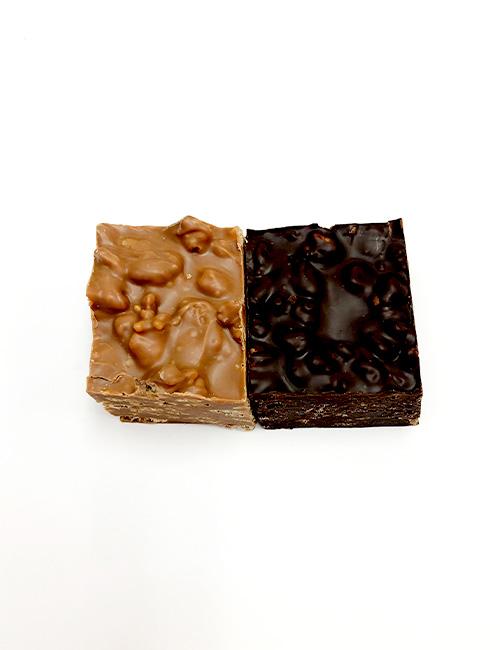 Chocolate Crunch, Rice Krispies and Chocolate