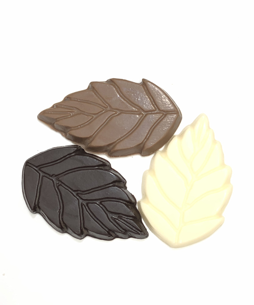 Autumn Chocolate Leaves