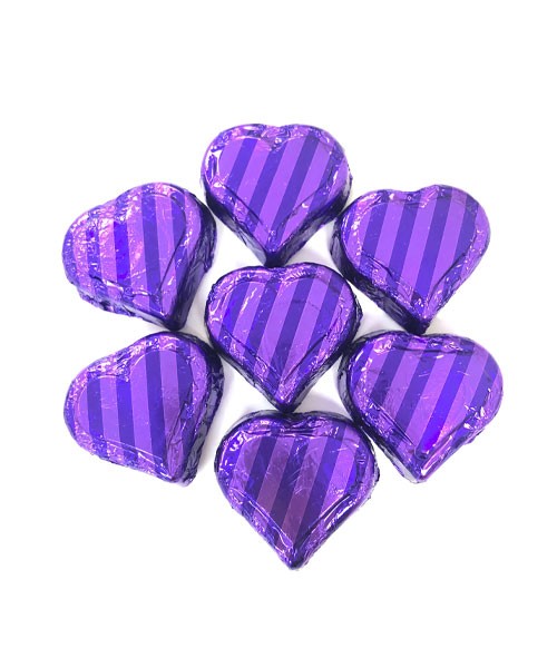 Valentine's Day Milk Chocolate Peanut Butter Hearts